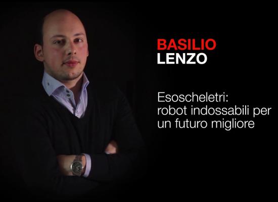 Wearable Robotics for a better future. | Basilio Lenzo | TEDxBergamo