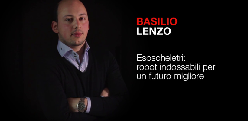 Wearable Robotics for a better future. | Basilio Lenzo | TEDxBergamo
